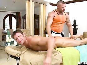 Гей порно массажист с пациентом